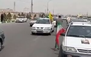 فیلم/ راهپیمایی خودرویی قمیها در روز قدس