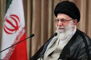 عکس/ سخنرانی رهبر انقلاب به مناسبت روز جهانی قدس
