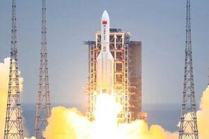 بیشتر بقایای موشک چینی با ورود به جو زمین میسوزد