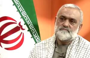 فیلم/ بغض سردار نقدی روی آنتن زنده