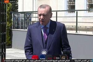 اردوغان: تلاش میکنیم اتحاد تاریخیمان با ملت مصر را بار دیگر به دست آوریم - کراپشده