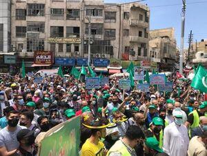 اردنی ها خواستار اخراج سفیر رژیم صهیونیستی شدند