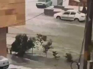 فیلم/ ارمغان باران بهاری برای تبریز