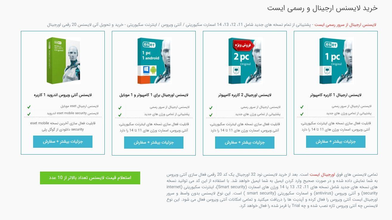 معرفی نودسرو، نمایندگی Eset در ایران + راهنمای خرید کامل
