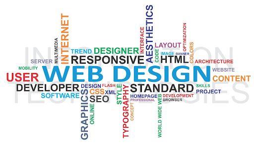 اصول طراحی صفحه اول وب سایت