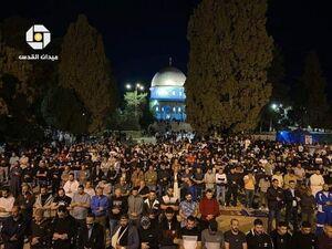 عکس/ بازگشایی مسجدالاقصی پس از درگیریهای شبانه