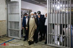 عکس/ حضور دادستان کل کشور در ندامتگاه تهران بزرگ