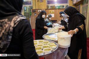عکس/ اقدام زیبای یک گروه جهادی در ماه رمضان