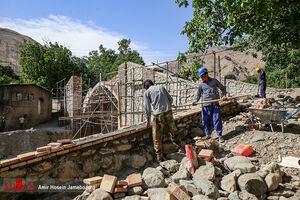 مرمت و بازسازی پل تاریخی «کن»