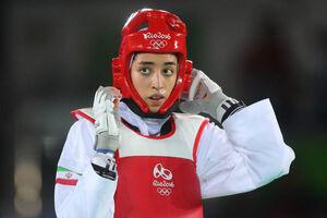کیمیا علیزاده سهمیه المپیک نگرفت