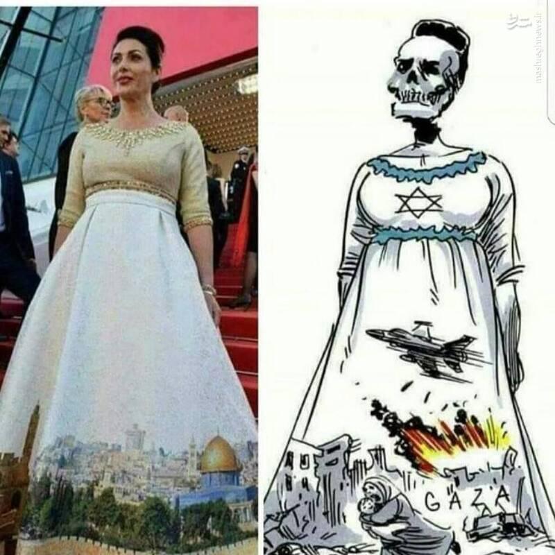 واکنش نقاش برزیلی به نقاشی دامن وزیر صهیونیست+ عکس
