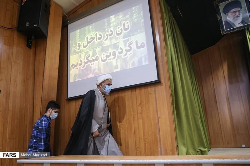 حضور حجت الاسلام پژمانفر رئیس کمیسیون اصل ۹۰ در همایش «ویَن نان نمی شود»