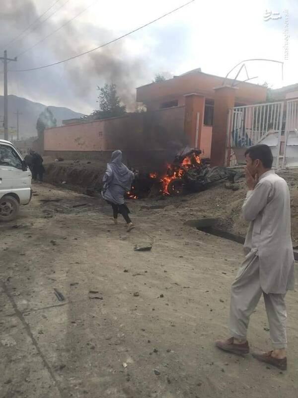 عکس/ محل انفجار در منطقه شیعه نشین کابل