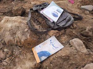 عکس/ وسایل به جامانده از قربانیان انفجار در افغانستان