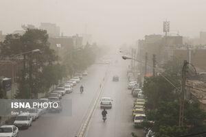 عکس/ آلودگی هوا در کرمان