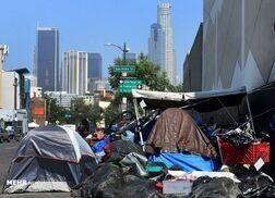آتش در چادر بی خانمانهای آمریکا+ فیلم