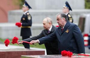 عکس/ پوتین در مراسم رژه روز پیروزی در مسکو