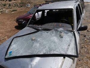عکس/ حمله صهیونیستهای شهرکنشین به فلسطینیها