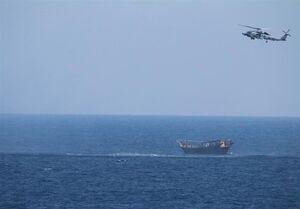 ادعای مقام دفاعی آمریکا درباره کشتی توقیف شده در دریای عرب