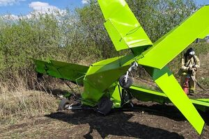 کشته شدن سارق یک هواپیمای شخصی در روسیه بر اثر سقوط