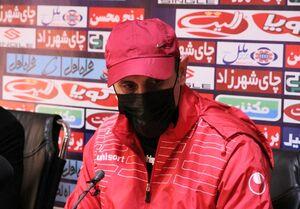 گل محمدی: اتفاقات پایان بازی در شان نام دو تیم نبود/ پیش از بازی شرایط خوبی برای ما در اصفهان رقم نخورد