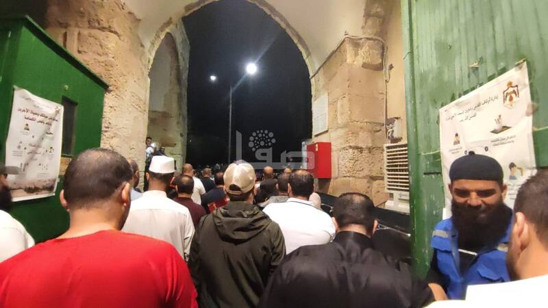 تیراندازی نظامیان رژیم صهیونیستی به سوی معترضان در قدس