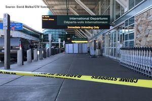 تیراندزایدر فرودگاه ونکوور