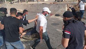 عکس/ درگیریهای شدید در مسجدالاقصی
