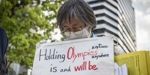 انجام نظرسنجی جدید و مخالفت با برگزاری المپیک