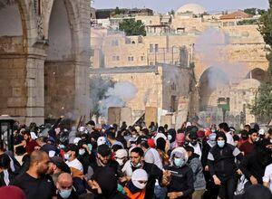 فیلم/ شادی فلسطینیان پس از عقبنشینی صهیونیستها