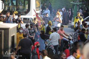 واکنش متفاوت رییس پلیس اصفهان به اتفاقات بازی سپاهان و پرسپولیس/ پلیس درگیریها را تأیید کرد؟