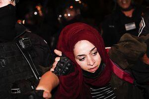 عکس/ حضور زنان در خط مقدم مبارزه با صهیونیستها