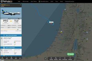 عکس/ توقف پروازهای فرودگاه بنگوریون تل آویو