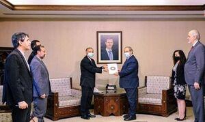 سفیر جدید ایران در سوریه با فیصل مقداد دیدار کرد