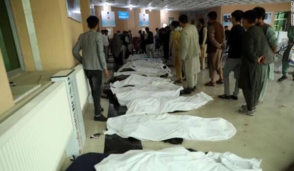 افزایش تعداد شهدای انفجار کابل به ۸۵ نفر