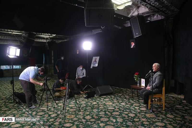 پخش مراسم پنجمین سالگرد شهید محمد ناظری در حسینیه امامزاده علی اکبر(ع) چیذر به صورت برخط در چندین شبکه اجتماعی
