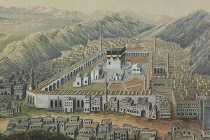 مکه ۲۳۰ سال پیش چه شکلی بود + تصاویر - کراپشده