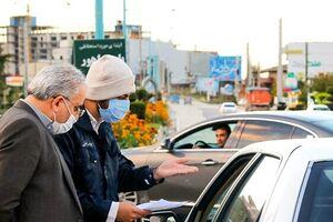 اجرای طرح جلوگیری از ورود خودروهای با پلاک غیربومی به مازندران/جریمه کرونایی جریمه کرونایی ۲۰هزار خودرو - کراپشده