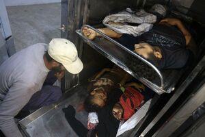 عکس/ شهادت سه کودک فلسطینی در حمله رژیم صهیونیستی