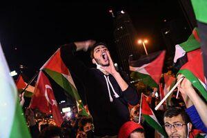 فیلم/ شادی ساکنان غزه از پیروزی مقاومت