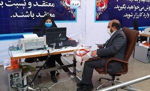 عکس/ ثبت نام دبیرکل جبهه جهادگران در انتخابات ۱۴۰۰