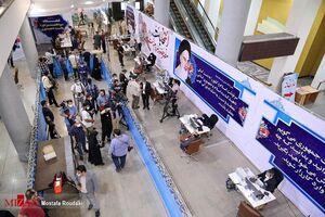 عکس/ حضور خبرنگاران در محل ثبت نام نامزدهای انتخابات