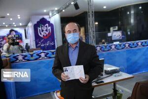 عکس/ ثبت نام وزیر پیشین ارتباطات در انتخابات