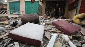 عکس/ خسارت ناشی از حمله بامداد امروز جنگندههای اسرائیلی