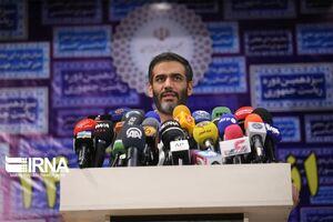 عکس/ نشست خبری سعید محمد پس از ثبتنام در انتخابات