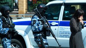اولین تصاویر از تیراندازی مرگبار در کازان روسیه