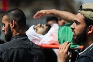 عکس/ تشییع شهدای مقاومت فلسطین