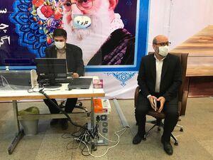 عکس/ ثبت نام حسین دهقان در انتخابات ۱۴۰۰