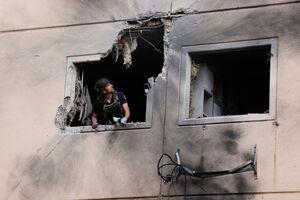 اصابت دقیق راکتهای مقاومت فلسطین