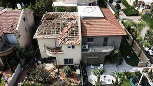 عکس/ اصابت دقیق راکتهای مقاومت فلسطین